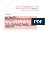 Albino Melo 2011 Inclusao Do Estudante Com Defi 6862