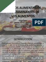 Aditivos Alimentarios y Contaminantes de Los Alimentos