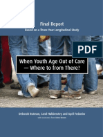 When youth age out of care -- Where to from there?