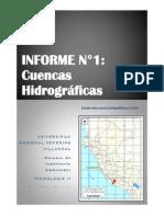 Informe n 1 Hidrologia