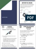 Motorola H780 Manual