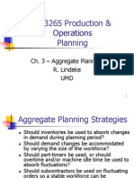 Productio Operations Planning_aggregate Planning - Chapter3