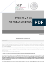 Programa Orientacion Educativa i Dgb