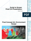 From Script to Screen - Final Crit Presentation