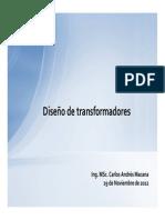 6 - Diseño de transformadores