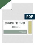 Teorema Del Limite Central