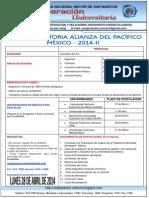 14-02.03- Convocatoria Alianza del Pacífico MÉXICO - pregrado  y Doctorado