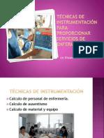 Técnicas de instrumentación para proporcionar servicios de enfermería