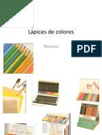 L+ípices de colores