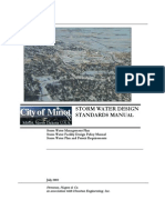 Minot Storm Water Design Standards Manual