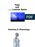 yoga - spine presentation 2014 presentation copy