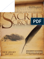 Sacred Scrolls - 40 Hadeeth Nawawi-1