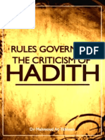 Rules Hadeeth