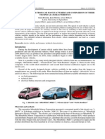 Information about electric vehicles