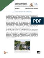 Evaluacion de Impacto Ambiental Tarea 1