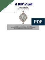 Al Quran PDF Terjemahan