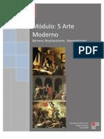 Modulo 5 Barroco, Neoclasicismo Romanticismo