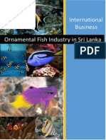 Ornamental Fish Industry in Sri Lanka
