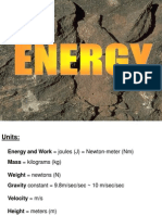 Energy Calculations