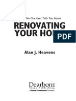 Renovating Home