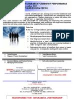 Brochure Team Effectiveness for Higher Performance