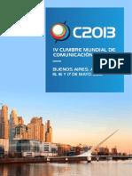 Brochure Cumbre 2013
