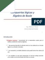 Compuertas y Algebra de Boole