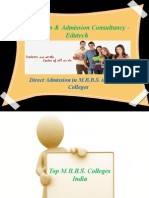 Education-Admission Consultancy in India