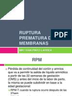 01-Ruptura Prematura de Membranas