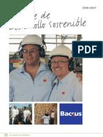 Backus Reporte Desarrollo Sostenible
