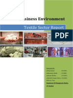 India Textile Sector Report Roll No 1 2 3 4