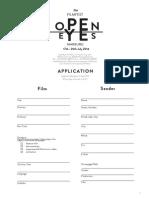 application oe2014