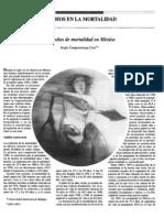 100 AÑOS DE MORTALIDAD EN MEXICO