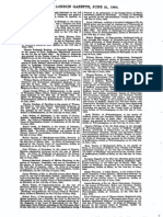 Wharris Bankrupt - London Gazette