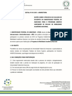 Edital 015-2013 - Santander Andifes Nacional 2014