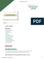 Residential Rates Flintenergies