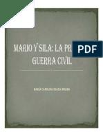 Unidad 7 Mario y Sila - María Carolina Suaza Molina