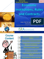 Economic Institutions ,Rules and Contracts