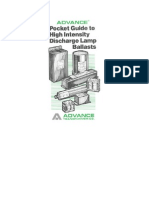 Advance HID Lamp Ballast Pocket Guide