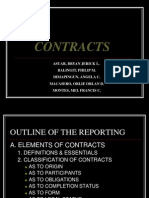 Classification of Contracts