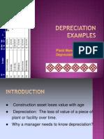 Add Topic Depreciation s