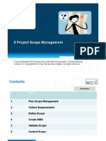 5 Project Scope Management 52 Slides