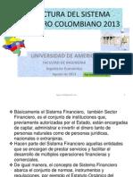 Clase 01.- Estructura Del Sistema Financiero Colombiano 2013 Ok