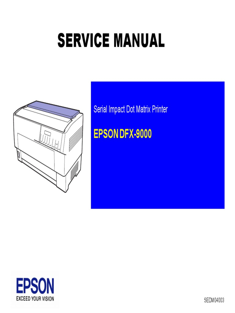 epson dfx 9000 usb electronic engineering rh scribd com epson dfx 9000 service manual free download pdf epson dfx 9000 service manual pdf