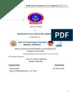 Delhi Route Planner - Docx