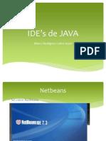 IDE's de JAVA y caracolito