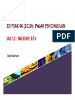 PSAK 46 Pajak Penghasilan IAS 12 Income Tax 240911