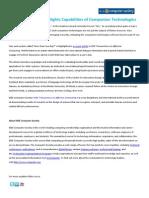 IEEE CS Journal Highlights Capabilities of Companion Technologies