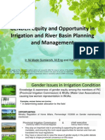 Gender Equity and Opportunities in Irrigation and River Basin Planning and Management