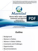 Women Water Utility Leadership
